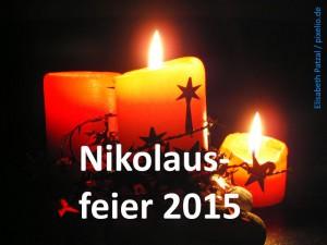 Nikolausfeier 2015